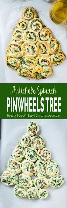 These super easy, nutritious & delicious artichoke spinach pinwheels are perfect appetizers for the holiday season. Quick preparation with tons of flavors. #spinachartichoke #christmasappetizer #holidayappetizers #ad #ImmaculateBaking @ImmaculateBaking