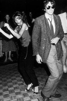Richard Gere with Judy Licht at Studio 54 ~ 1979