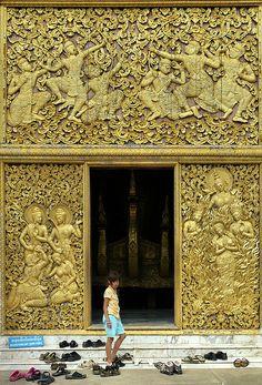 Wat Xieng Thong Temple ~ Luang Prabang ~ Laos