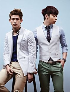 TAECYEON AND CHANSUNG (2PM)