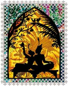 From Jan Pienkowski's Arabian Nights