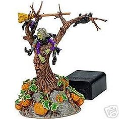 Department 56 Snow Village Halloween Witch Crash * Special  product just for you. See it now! : Decor Collectible Buildings and Accessories