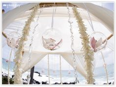 floating orchid bulbs / mikesidney.com    The Wedding Lady - Exquisite Wedding Planning in Maui Hawaii and Vancouver BC    #weddinglady.com