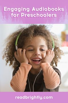 While not a replacement for reading a book aloud, audiobooks provide many benefits of their own, helping kids to expand their imagination and strengthen their listening, pronunciation, and comprehension skills. Pictures To Draw, Baby Pictures, Ezra Jack Keats, Silly Words, Kelsey Grammer, The Gruffalo, Starting School, British Accent, Kindergarten First Day