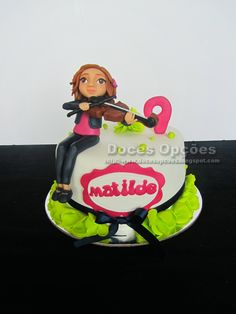 Doces Opções: O aniversário da violinista Matilde