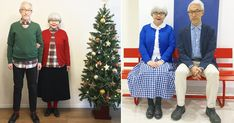 Adorable Old Couple Have Been Dressing In Matching Outfits For 38 Years - 9GAG