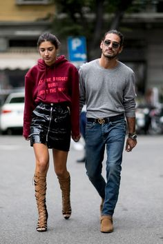 Milan Fashion Week Street Style | Spring 2017 Day 3 – The Impression