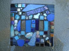 MOSAIC LIGHT SWITCH Plate Cover  Double by victoriacharlotte