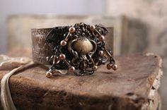 Enchante Cuff bracelet by HaveFaithDesigns on Etsy