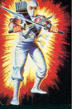 Storm Shadow - G.I. Joe Card Art