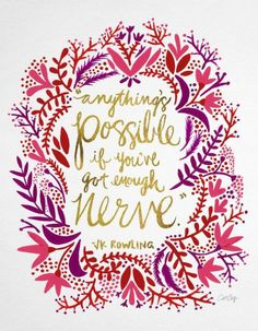 100 Encouraging Ideas | Anxious fearless explorer adventure explore discover travel wanderlust anxiety encourage inspire inspiring lauren without fear quotes thoughts socrates philosophy philosophical inspirational inspiration post grad post-grad solo female blogger vlogger blog vlog career self-employed business owner entrepreneur anything's possible if you've got enough nerve jk rowling j.k.