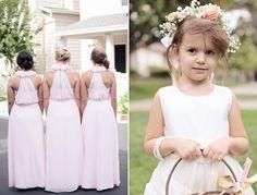 lamb & blonde: Wedding Wednesday: Glam pink & gold wedding!
