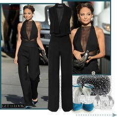 """""""Nicole Richie ( Get the look)"""" by lovelycreola ❤ liked on Polyvore"""