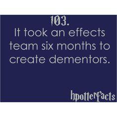 Harry Potter Facts 103. Dementors!