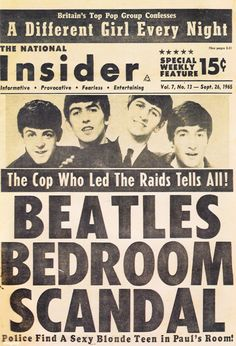 Oh, those guys . . . ;) The Beatles