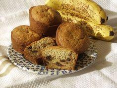 Banana Chocolate Chip Muffins Gluten Free Dairy Free, Recipe:Photo by Daily Forage