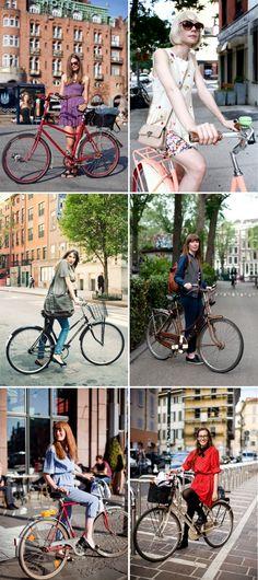 girls + bikes = perfect combination