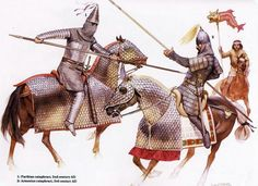 Parthian and Armenian cataphracts