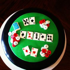 15 x 22 3D Rose Casino Concept with Poker Cards Chips Dice and Slot Style Sevens Towel