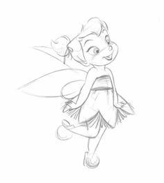 Steve Thompson Tinkerbell as a little fairy
