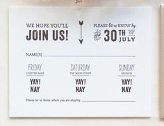 Lindsay & Evan's Ethereal Camp Wedding Invitations by Gus & Ruby Letterpress | gusandruby.com