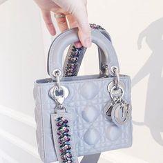 Pinterest    sɬylɛnвɛauɬy❁ Lady Dior Mini, Lady Dior Bags, Dior Handbags, a6338f5993