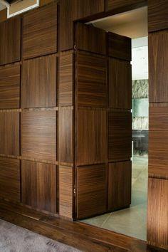 #hidden #door #portafiloparete