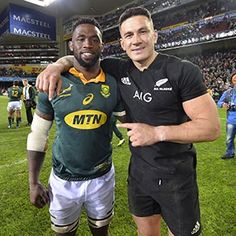 Springbok flank Siya Kolisi has revealed what All Black star Sonny Bill Williams said to him after Saturday's Newlands clash. Siya Kolisi, Rugby Quotes, Sonny Bill Williams, International Rugby, Rugby Men, All Blacks, Rugby World Cup, Rugby Players, My Childhood Memories