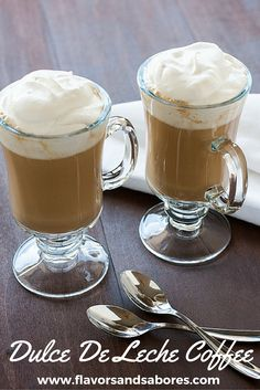 Dulce de Leche Coffee Milkshake | Recipe | Coffee Milkshake, Dulce De ...