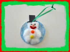 Easy-Frosty-The-Snowman-Ornament-Craft-For Kids
