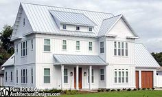 Search our collection of house plans by over 200 designers and architects to find the perfect home plan to build. All house plans can be modified. House Plans One Story, Ranch House Plans, Country House Plans, Metal Building Homes, Building A House, Morton Building, Building Ideas, Style At Home, Farmhouse Design