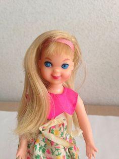 Cute Mattel 1968 Blonde Tutti Doll Barbies Little Sister   eBay