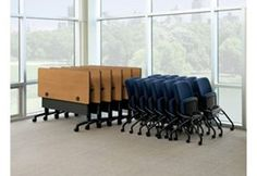 HON's Huddle Tables. Furntiure that is easy to store and has great mobility.  To get more details and see more visit: http://showcase.hon.com/Kentwood-Office-Furniture/Home.aspx