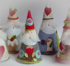 *Дизайн и декор* - Мягкие новогодние украшения-игрушки