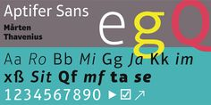 Aptifer Sans™ - Webfont & Desktop font « MyFonts