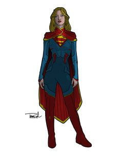 Supergirl by tsbranch - I love this version of supergirl! I actually love a lot of Thomas Branch's versions of superheroines