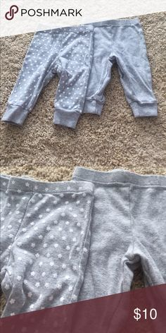 BABY PANT SET One pair of gray pants with stars and one pair of gray pants Skip Hop Bottoms