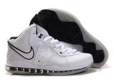 75e437b77761b Air Foamposite Nike LeBron 8 White Black  Nike LeBron 8 - Generous and  trendy Nike LeBron 8 White Black shoes are cheap and durable.