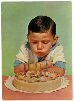 Birthday Greetings Friend, Happy Birthday Boy, Happy Birthday Vintage, Retro Birthday, Happy Birthday Images, It's Your Birthday, Birthday Pictures, Birthday Wishes, Birthday Cards