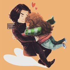 Tall and small tackle hug <3