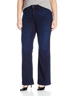 NYDJ Women's Plus Size Isabella Trouser Jeans in Future Fit Denim