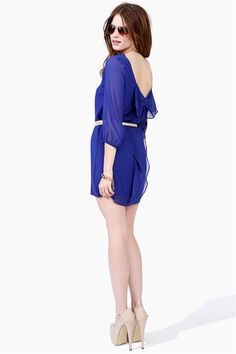 Waldorf Summer Dress - Royal