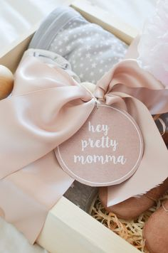 Baby shower gift baby gift new mom gift newborn gift hospital g Diy Gifts For Mom, Gifts For New Moms, Gifts For Baby, Hospital Gifts, Baby Kicking, After Baby, Pregnant Mom, Newborn Gifts, Baby Hacks