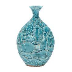 Aquatic Ceramic Vase