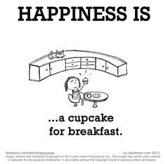 ...a cupcake for breakfast