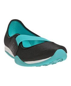 Take a look at this Black & Blue 101 Slip-On Shoe - Women by New Balance on #zulily today!