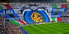 Inter Milan suffered a rather tragic exit from their Champions League campaign as Claudio Ranieri's side went out from the competition in the last minute of the Football Drills, Football Stadiums, Football Fans, Ultras Football, Milan, Fedex Field, International Champions Cup, Racing Events, Field Of Dreams