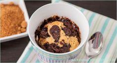 Schnelles Rezept für einen leckeren Low Carb Mikrowellen-Kuchen mit Kokosmehl, den man in weniger als 5 Minuten in der Tasse zubereiten kann.