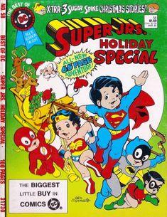 Super Juniors - Batman and Robin - Weirdo Toys Christmas Pops, A Christmas Story, Comics Story, Dc Comics, Comic Book Covers, Comic Books, Romper Room, Christmas Comics, Superhero Characters