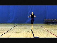 Hope (Carrell) Ham Baton Twirling 8-Spin - lucky to have her as my teacher!!!